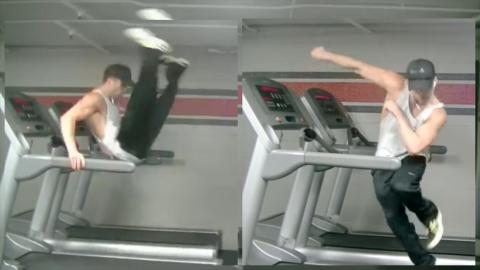 This Amazing Treadmill Dance Routine Will Uptown Funk You Up