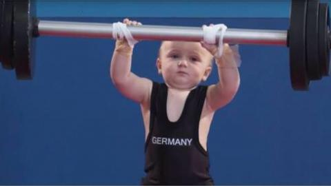 FUNNY: If Babies Competed in the Olympic Games