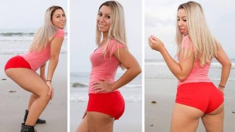 22 Year Old Woman Becomes Professional Booty Shaker