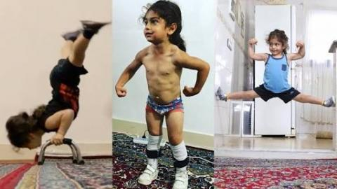 Is This The World's Strongest 3 Year Old Ever?