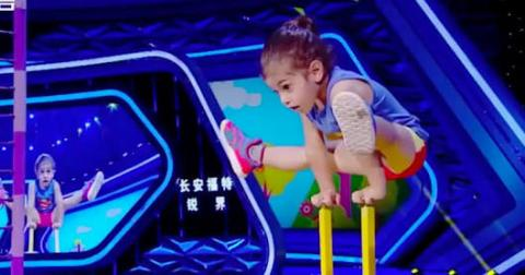 Iranian 3-year old Shows Off Amazing Strength
