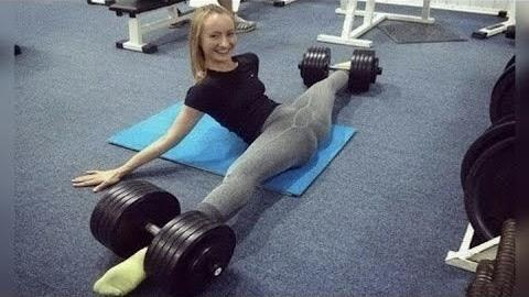 Strong Female Fitness Motivation