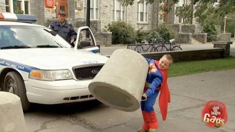 FUNNY: Boy With Superhero Strength