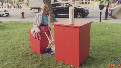 FUNNY: Girl Loses Legs After Spilling Acid